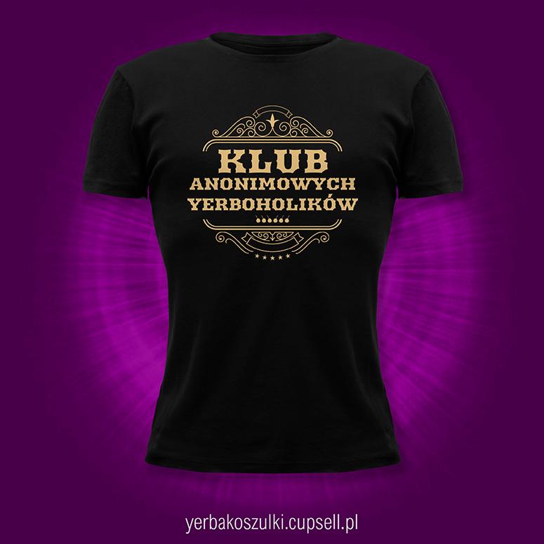 koszulka yerba mate czarna